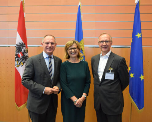 Bild naBe-Aktionstag FBM, BBG-GF und 2. Landtagspräsident