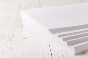 Stapel Kopierpapier