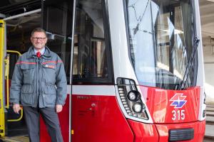 Straßenbahnfahrer der Wiener Linien